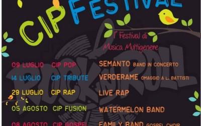 CIP FESTIVAL – 1° Festival di Musica Multigenere