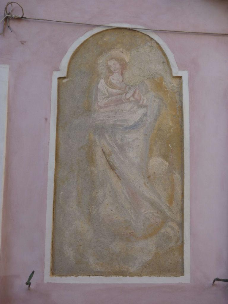 affresco della Vergine Immacolata