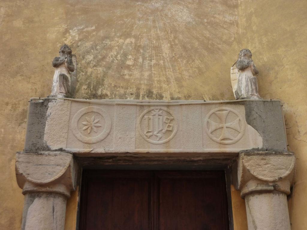 piazza San Matteo, resti architettonici antica parrocchiale