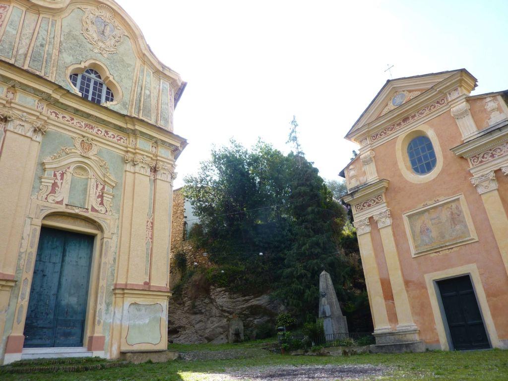 piazza Santi Cosma e Damiano, chiesa e oratorio