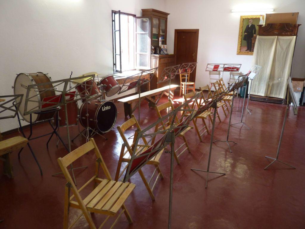 sala filarmonica, interno