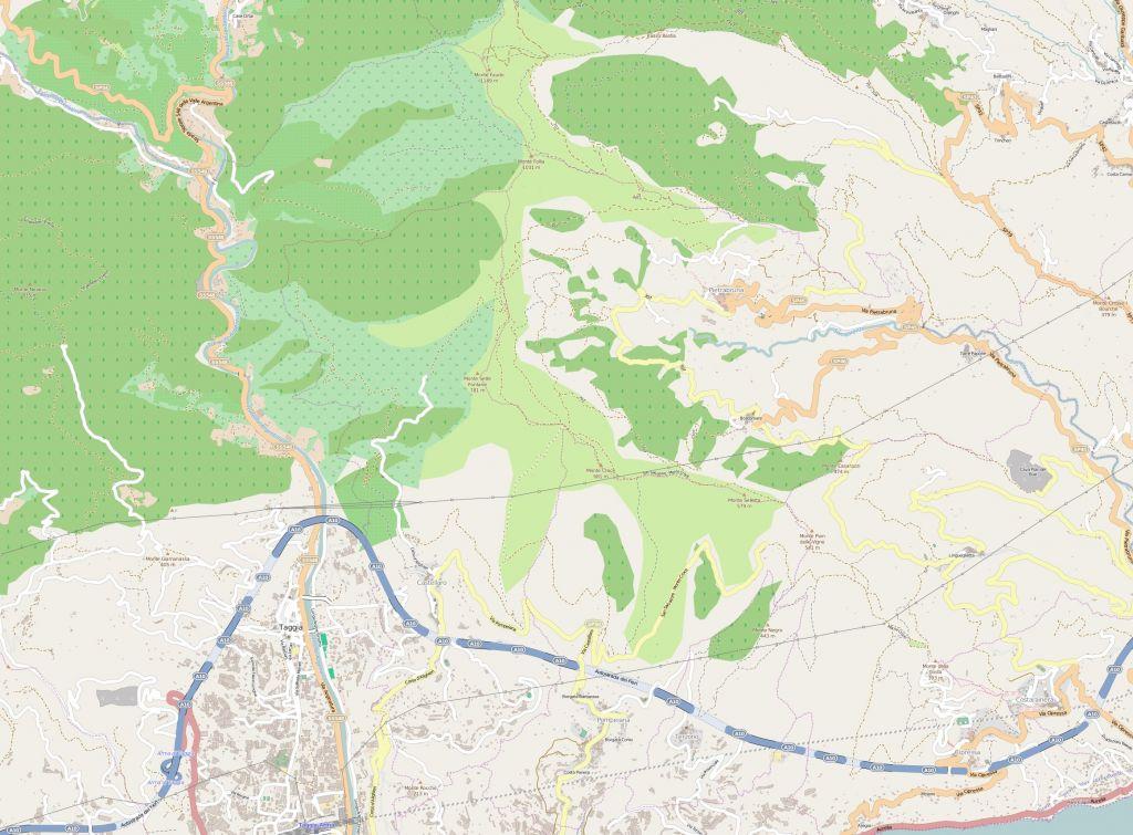Mappa di Boscamare