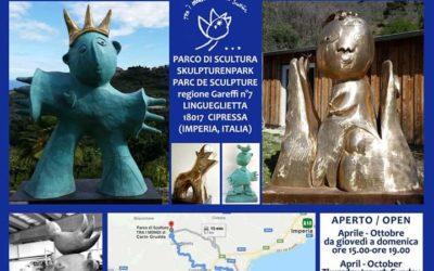 """Orari di apertura Parco d'arte contemporanea e di sculture monumentali """"Tra i Mondi"""" (Lingueglietta)"""