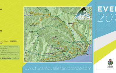 Nuova brochure Eventi estivi Valle del San Lorenzo 2019